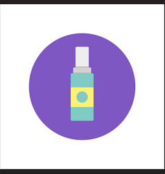 women lubricating gel or female lubricant color vector image