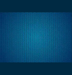 dark blue abstract knitted texture background vector image