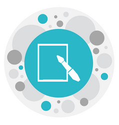 of science symbol on vector image