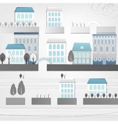 02 City landscape vector image