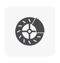 Bike part icon vector