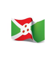 Burundi flag vector