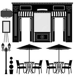 business boutique shop store a scenario a vector image