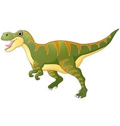 Cartoon dinosaur tyrannosaurus vector