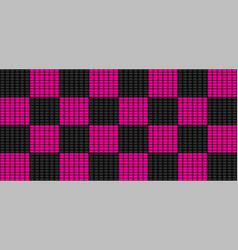 Emo subculture black and pink background vector