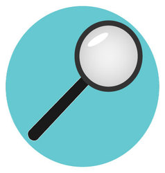 Icon analysis search analytics vector