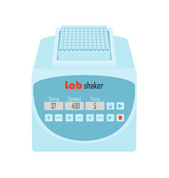lab equipment shaker vector image vector image