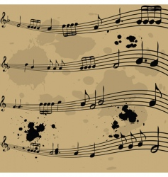 music notebook vector image