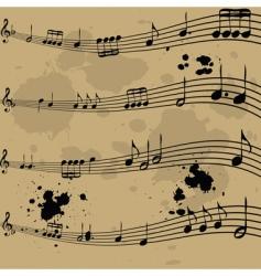 Music notebook vector
