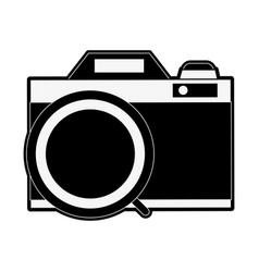 photographic camera vintage vector image