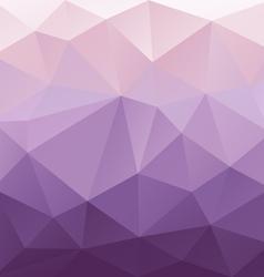 Purple gradient abstract polygon triangular vector