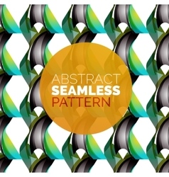 colorful seamless geometric pattern Modern vector image