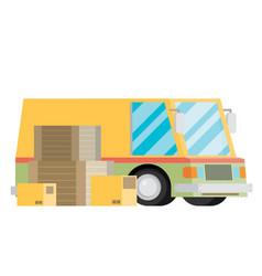 free shipping car vector image