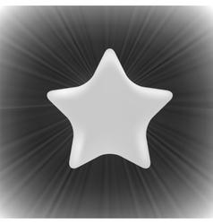 Grey Star vector