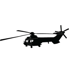 Helicopter - vector