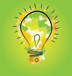 Light bulb - idea concept vector