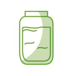 mason jar isolated icon vector image