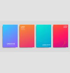 Printminimal covers design colorful halftone vector