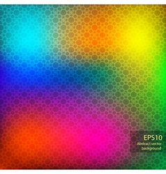 rainbow abstract background matte vector image