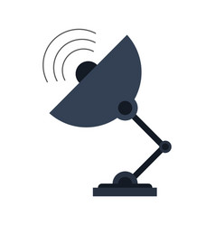 telecommunications related icon image vector image