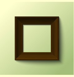 frame for picture vector image vector image