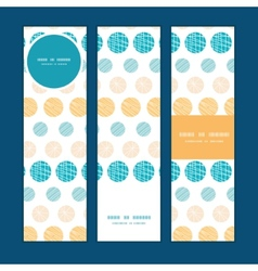 texture circles stripes abstract vertical banners vector image