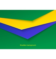 Abstract seamless brazilian background vector image