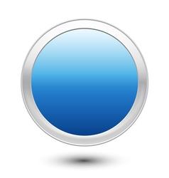 Empty Button vector image vector image