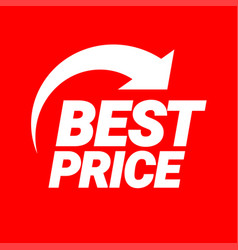 best pricel symbol or emblem for an advertising vector image