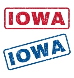 Iowa Rubber Stamps vector