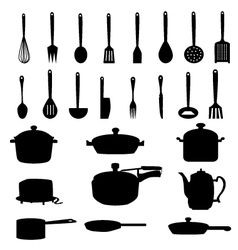 Kitchen Materials set vector