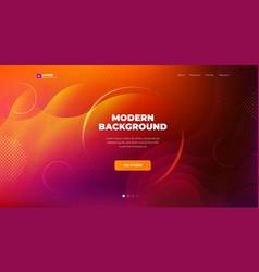liquid color background design fluid gradient vector image