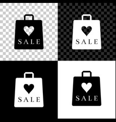 shoping bag with an inscription sale icon isolated vector image