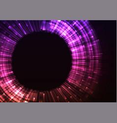 violet circle digital abstract sheet background vector image