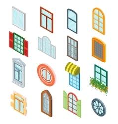 Windows Set vector image