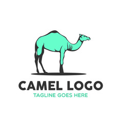 camel logo-6 vector image vector image
