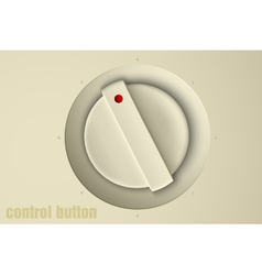 set of buttons volume control vector image vector image