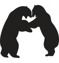 bear vector vector image