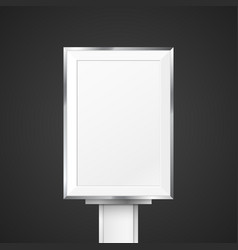 blank light box mockup vector image