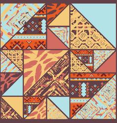 boho seamless background vector image