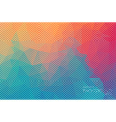 extra color geometric triangle wallpaper vector image