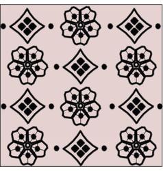 Handmade Crochet material pattern vector