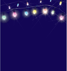 lights vector image