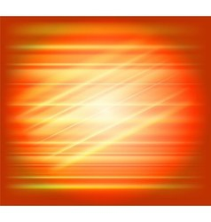 Orange abstract background light speed vector