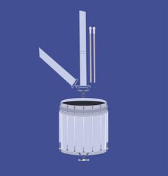 scottish tenor drum vector image