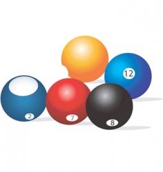 Snooker ball vector