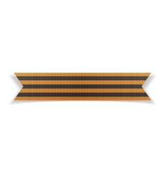 Victory Day realistic Saint George festive Ribbon vector