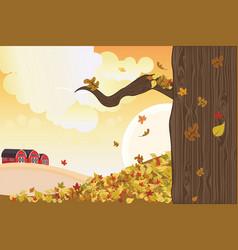 Autumn season vector