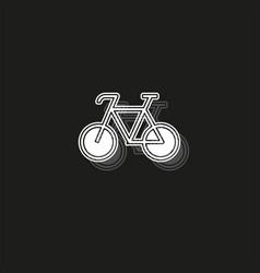 bicycle icon - bike - sport symbol vector image