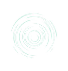 circles on water surface vector image
